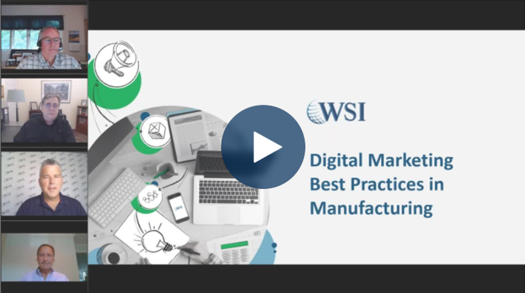A Guide to Digital Marketing Best Practices in Manufacturing